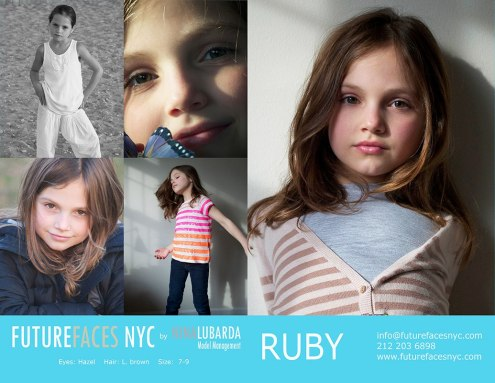 Future Faces NYC Model Ruby in Joe Fresh Campaign