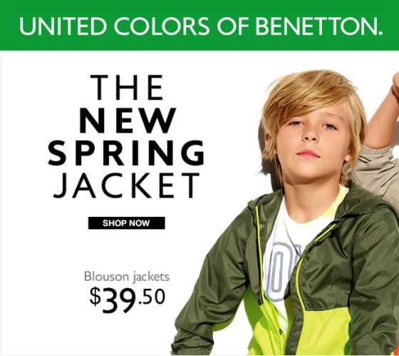 FUTURE FACES NYC NINA LUBARDA MODEL MANAGEMENT BENETTON CAMPAIGN